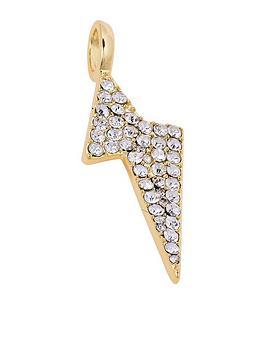 mya-bay-white-crystal-flash-charm-pendant-yellow-gold