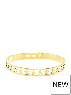 mya-bay-star-bangle-yellow-gold