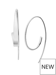 skagen-skagen-ladies-silver-tone-asymetric-threader-earrings