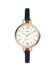 fossil-fossil-ladies-watch-navy-leather-strap-rose-gold-tone-case