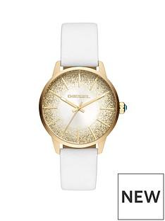 diesel-castilla-white-leather-strap-sunraynbspglitter-effect-dial-ladies-watch