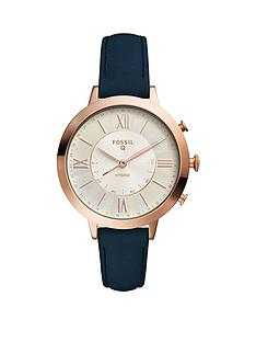 fossil-fossil-q-ladies-hybrid-smartwatch-rose-gold-tone-navy-strap