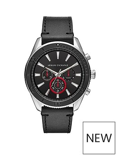armani-exchange-armani-exchange-mens-watch-stainless-steel-case-black-leather-strap-black-dial-with-red-accents