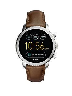 fossil-fossil-q-mens-display-smartwatch-stainless-steel-brown-strap