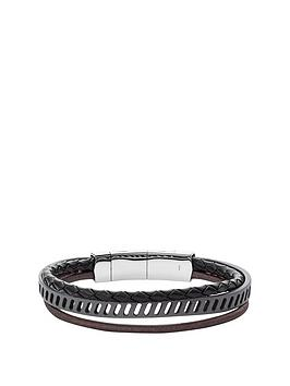 fossil-fossil-mens-leather-bracelet-black-grey-and-brown