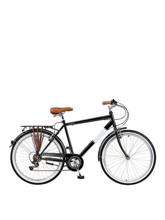 63418894120 Viking Viking Westminster 20 Inch Frame, 26 Inch Wheel, 6-Speed Traditional  Bike - Black