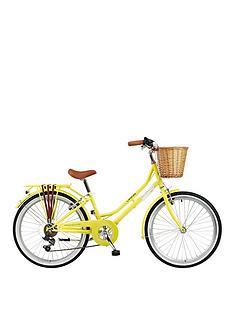 viking-vikingnbspbelgravia-13-inch-frame-24-inch-wheel-6-speed-traditional-bike-yellow