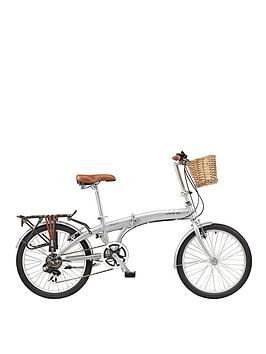 Viking Westwood 13″ Frame, 20″ Wheel, 6-Speed Folding – Bike Grey