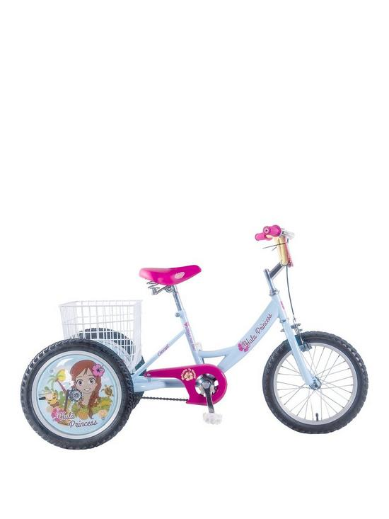 Concept Hula 16 Inch Frame 16 Inch Wheel Trike Blue | very.co.uk