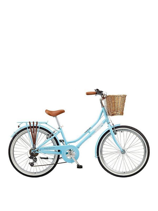00afdf66e75 Viking Belgravia 13 inch Frame, 24 inch Wheel, 6 Speed Traditional Bike -  Blue