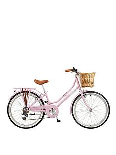 viking-belgravia-13-inch-frame-24-inch-wheel-6-speed-traditional-bike-pink