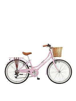 viking-belgravia-13-inch-frame-24-inch-wheel-6-speed-traditional-bike-pink
