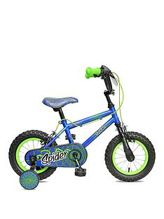 Concept Concept Spider 8.5 Inch Frame 12 Inch Wheel Mountain Bike Blue