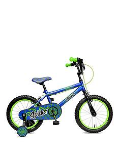 Concept Spider 10 Inch Frame 16 Inch Wheel Mountain Bike Blue