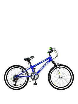 Concept Riptide 10 Inch Frame 20 Inch Wheel 6 Speed Mountain Bike Blue