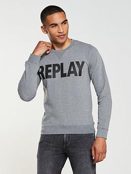 replay-logo-sweatshirt