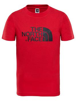 the-north-face-youth-easy-tee-rednbsp