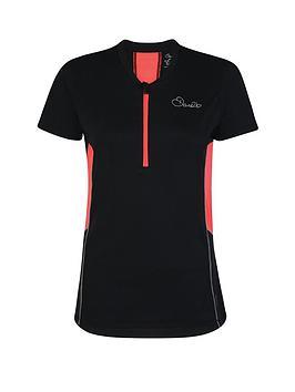 Dare 2B Ladies Assort Cycle Jersey - Black