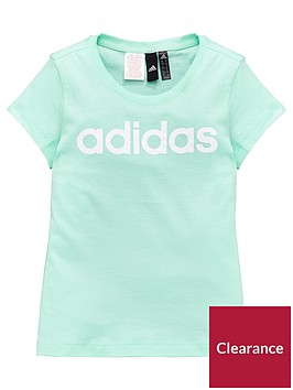 adidas-girls-linear-tee-mintnbsp