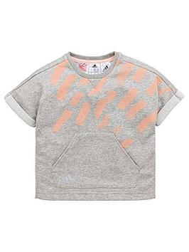 adidas-younger-girls-cotton-tee-medium-grey-heathernbsp