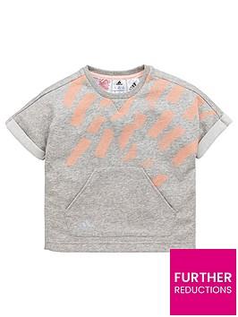 adidas-younger-girls-cotton-tee-medium-grey-heathernbsp