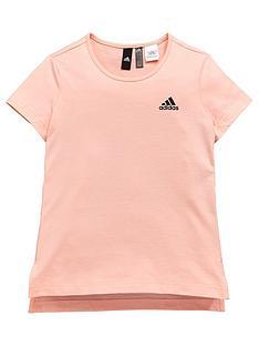 adidas-girls-id-tee-coralnbsp