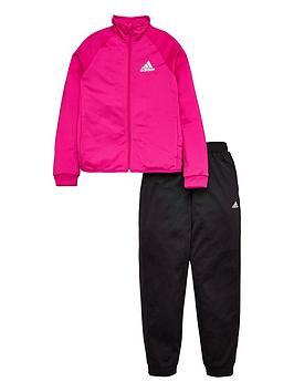 adidas-girls-entry-tracksuit-pinkblacknbsp