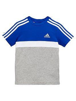adidas-younger-boys-cotton-tee-royal-bluenbsp