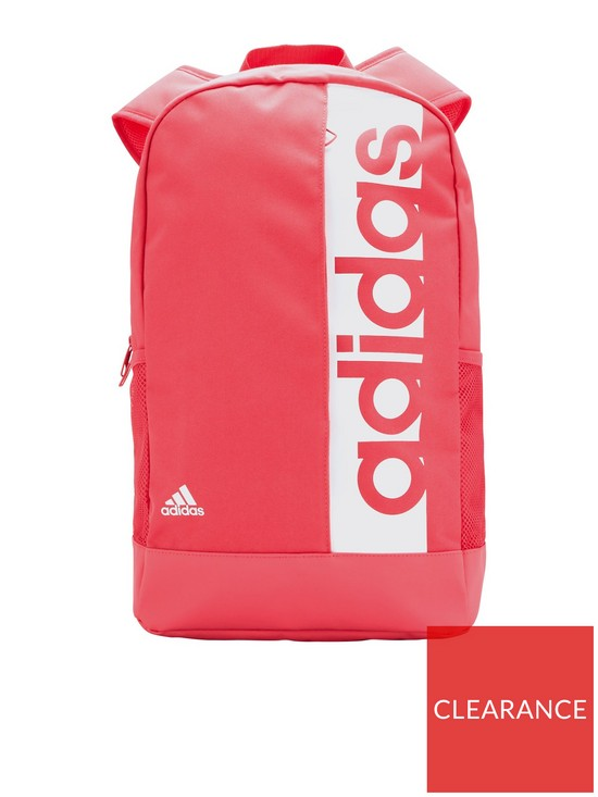 bf11f174b8e5 adidas Linear Backpack - Pink