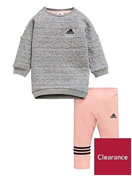 adidas-baby-girls-sweat-dress-set