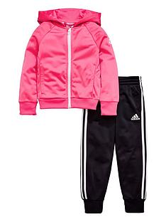 adidas-younger-girls-knit-tracksuit-pinkblacknbsp