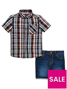 mini-v-by-very-boys-check-shirt-and-denim-short-set