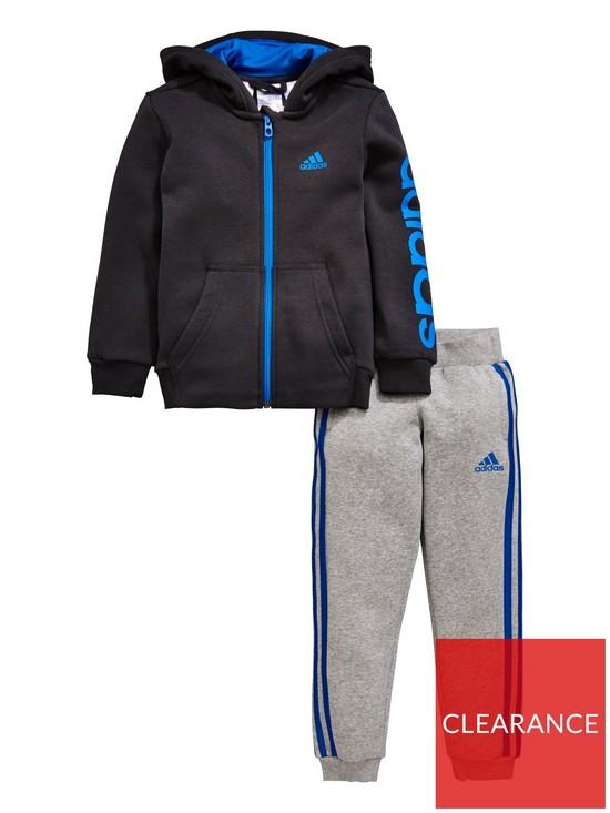 404a78dea adidas Younger Boys Hojo Tracksuit - Grey