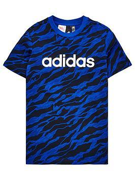 adidas-boys-linear-print-tee-royal-bluenbsp