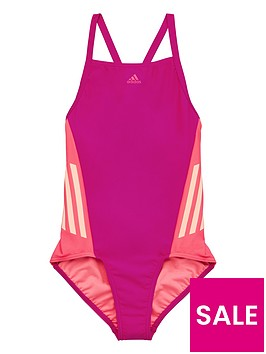 adidas-girls-swimsuit-magentanbsp