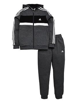 adidas-boys-cotton-tracksuit-dark-grey-heathernbsp