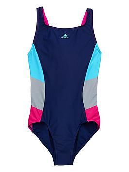 adidas-girls-1-piece-swimsuit-dark-bluenbsp