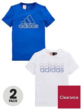 adidas-boys-prime-tee-2-pack-bluewhitenbsp