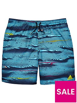 adidas-parley-boys-short-blue-multinbsp