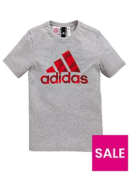adidas-boys-logo-tee-medium-grey-heathernbsp