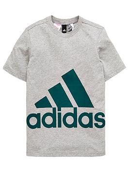 adidas-boys-big-logo-tee-medium-grey-heathernbsp