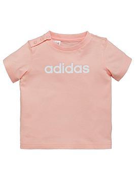 adidas-baby-girls-tee-coralnbsp