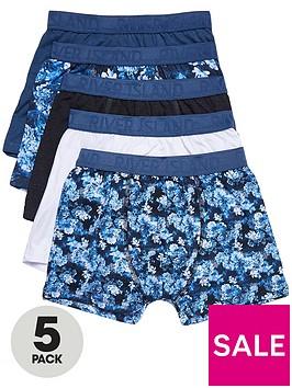 river-island-boys-blue-floral-trunks-multipack