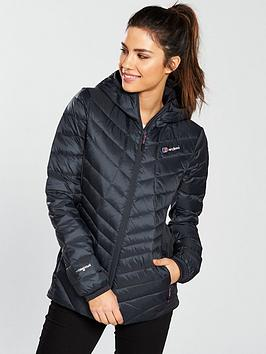 Berghaus Tephra Stretch Reflect Hooded Jacket - Carbon