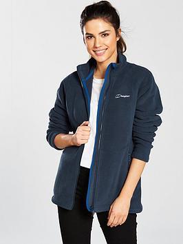 Berghaus Full Zip Prism Fleece Jacket - Navy