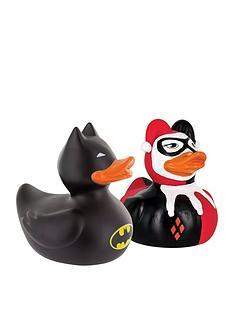 dc-comics-harley-quinn-and-batman-bath-ducks
