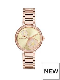 michael-kors-mk3836nbspcourtneynbsprose-gold-tone-case-and-paveacute-detail-ladies-watch