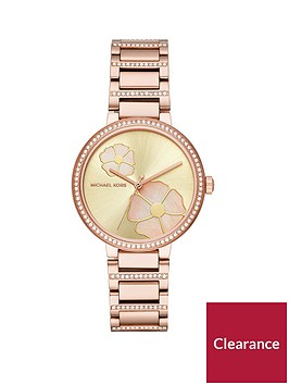 michael-kors-mk3836nbspcourtneynbsprose-gold-tone-case-and-paveacute-detail-ladies-watch