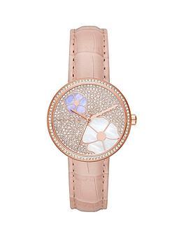 michael-kors-mk2718-rose-gold-tone-case-pink-leather-strap-ladies-watch