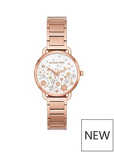 michael-kors-michael-kors-rose-gold-tone-case-and-bracelet-white-dial-with-pave-and-novelty-detail-ladies-watch